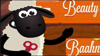 Баранчик Шон стрижет овечек. Sean Little Sheep shearing sheep.игра.