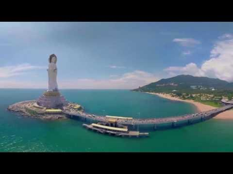 360 Video - Sanya, The gorgeous beach city in China