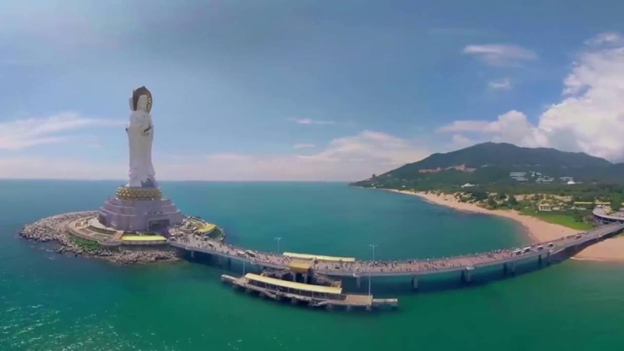 360 Video Sanya The Gorgeous Beach City In China
