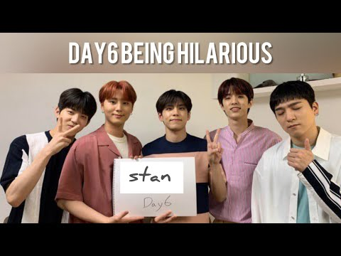 Day6 Being One Of The Funniest Groups | Funny Moments To Smile