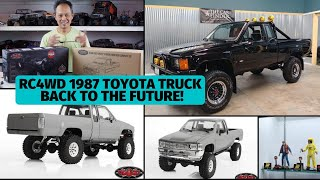 RC4WD Trailfinder II Unboxing - Toyota SR5 Back to the Future Project