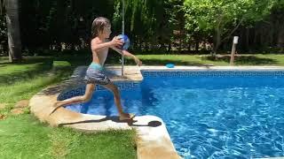 Waterpolo contra mi primo Piero