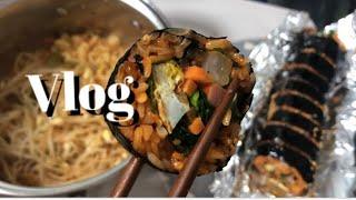 Vlog|브이로그|자취요리|강제집순이|제육덮밥|오징어덮…