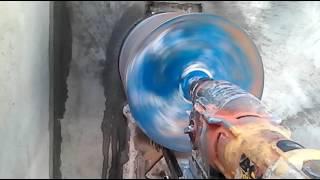 Алмазное бурение. Сверление отверстия в бетоне 350 мм(, 2016-08-22T02:48:06.000Z)