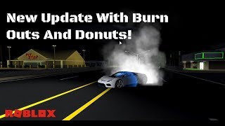 BURNOUTS AND DONUTS! - Ultimate Driving - ROBLOX