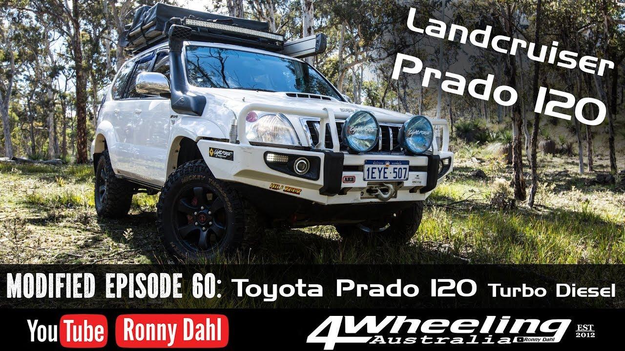 Toyota Prado 120, Modified