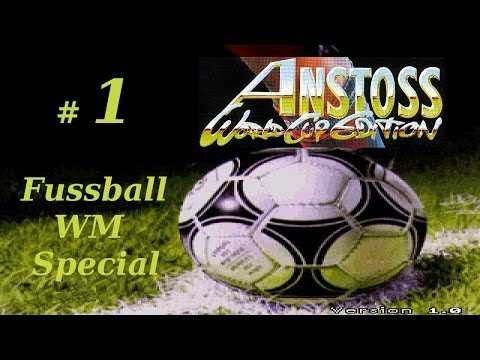 Anstoss World Cup Edition (PC/Gameplay/HD)   Fussball WM Special   #01 Fussballgigant San Marino