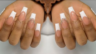 FRENCH SMILE LINE | NAIL TUTORIAL