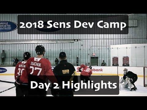 Ottawa Senators Development Camp 2018 - Day 2 Highlights