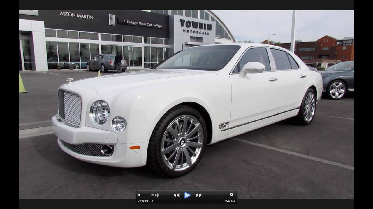 2013 Bentley Mulsanne Mulliner Start Up Exhaust And In