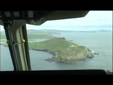 Shetland Islands Great approach Cockpit ARJ