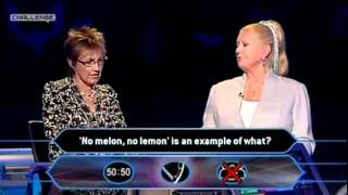 Kim Woodburne & Aggie McKenzie on Who Wants To Be A Millionaire - Part 2