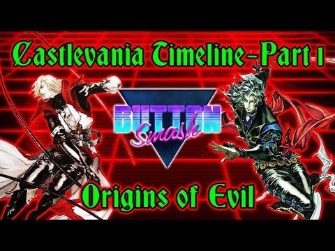 The Castlevania Timeline Part 1: Origins of Evil - Button Smash
