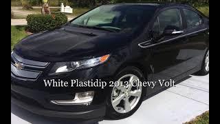Plastidip white 2013 Chevy Volt