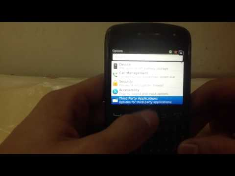 How to format BLACKBERRY CURVE 9360 full video