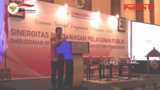 Konvensi Nasional Ombudsman: Sinergitas Pengawasan Pelayanan Publik