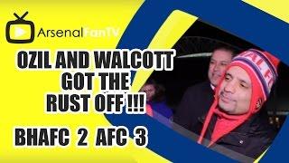 Ozil and Walcott Got The Rust Off !!! - Brighton 2 Arsenal 3
