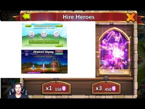 24 Egg Smashes + Fireworks Rolling For Aries Castle Clash