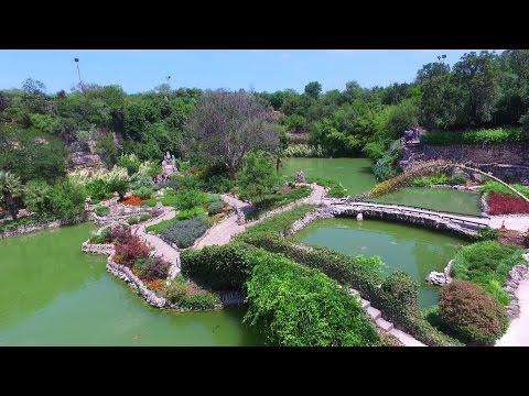 San Antonio Japanese Tea Garden & Alamo Stadium