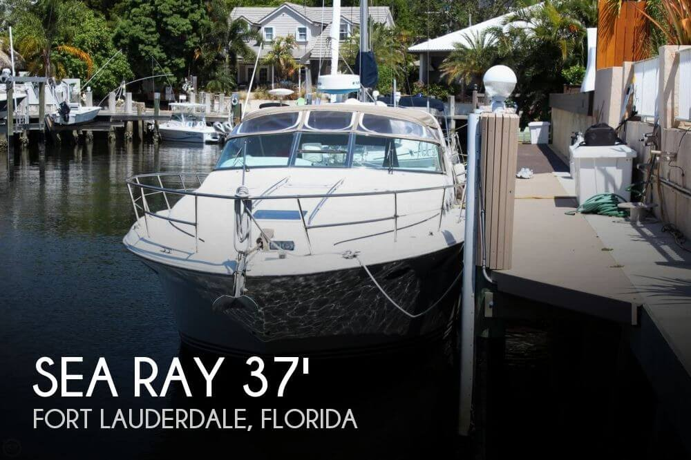 Used 1996 Sea Ray 370 Sundancer For Sale In Ft Lauderdale Florida