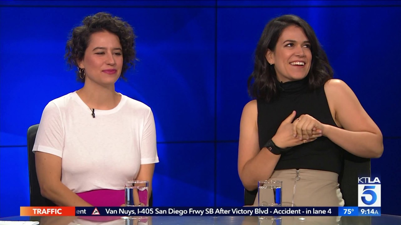 Yas Queen Abbi Jacobson Ilana Glazer Chat Broad City
