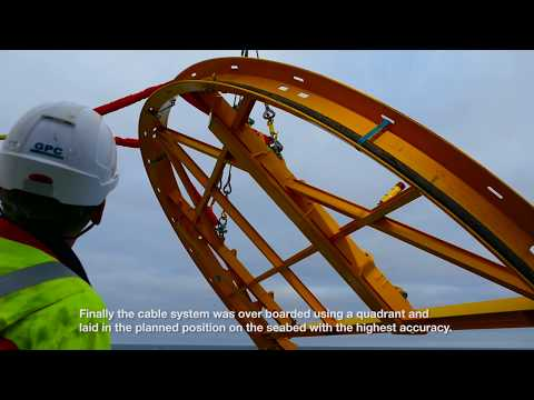 Skagerrak 2 repair - NKT high-precision turnkey cable repair operation