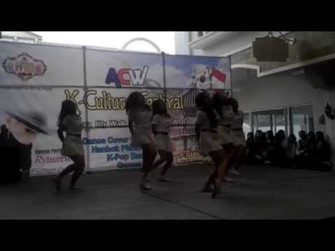 DoubleB - Me gustas tu dance cover at ACW K-Culture Festival Tegal