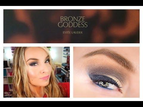 1st Impression : Look : Estee Lauder Bronze Goddess The Nudes Eyeshadow Palette