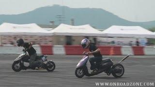 Gambar cover 2013.09.08 Scooter drag race . (1/32 mile Korea Drag Race Championship)