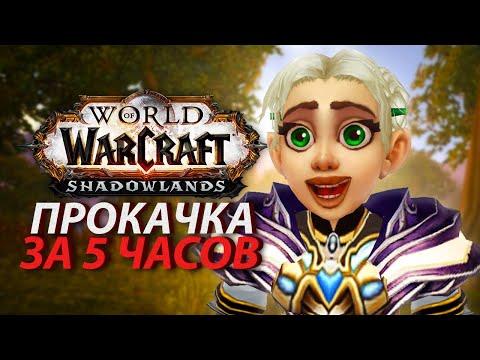 Очень уж быстрая прокачка в WoW: Shadowlands