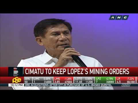 DENR Chief Reiterates Ban On Open-pit Mining