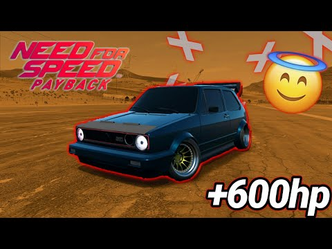 VW GTI 1974 600hp+ | RIP SUPERCARS | NEED FOR SPEED PAYBACK #2