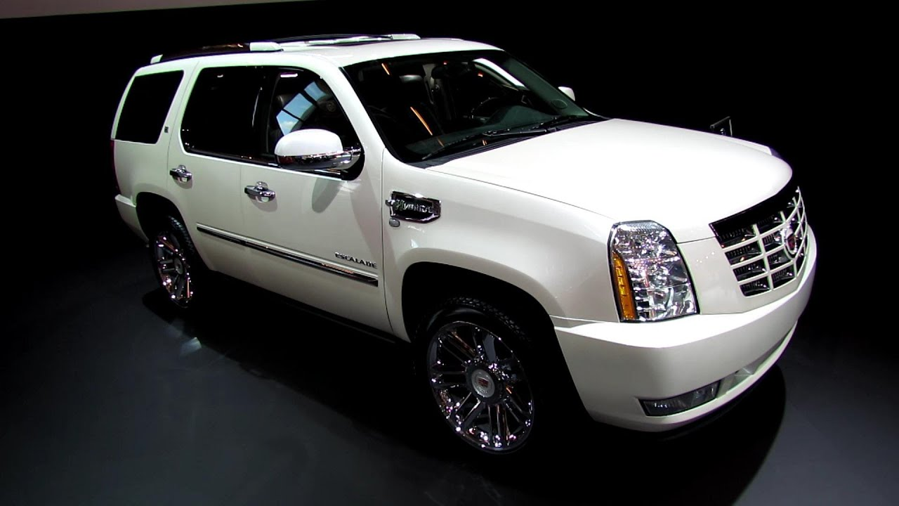 2013 cadillac escalade hybrid platinium exterior and. Black Bedroom Furniture Sets. Home Design Ideas