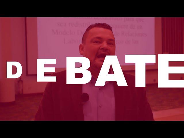 Importancia del diálogo social y el papel del sindicalismo - Representante Sergio Marín
