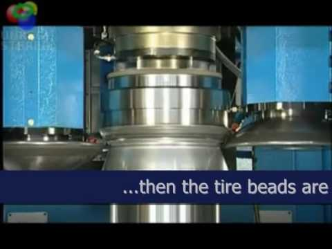 Flowforming alloy wheels with DENN flowforming machine