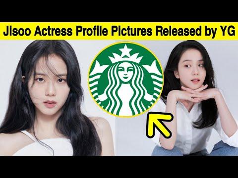 Jisoo Actress Profile Photos  Blackpink Starbucks Collaboration