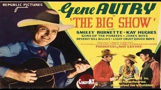 Big show (1936) starring gene autry, smiley burnette, kay hughes & roy rogers. written by dorrell mcgowan, stuart e.mcgowan and is directed mack v.wright ...