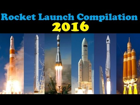 Rocket Launch Compilation (2016) | Go To Space 🚀