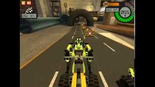Lego Technic Race Game Video