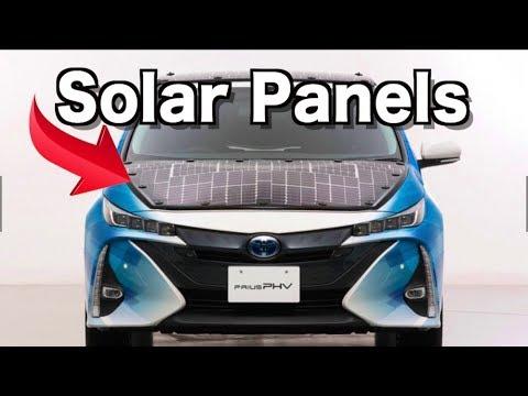 Solar Cells Boost Toyota Prius Range