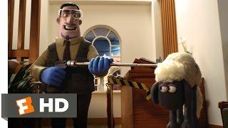 Shaun the Sheep Movie (2015) - Lunch Fiasco Scene (5/10) | Movieclips