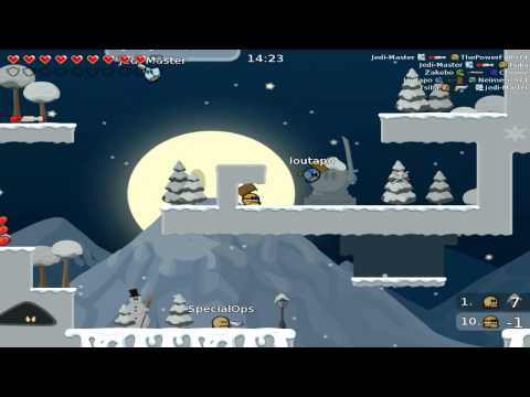 Game Review | Teeworld | Jogo fofo mas....CRUEL