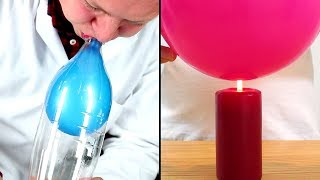10 Mind Blowing And DIY Simple Science Experiments With Balloons