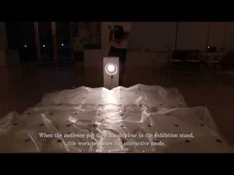 The Sea of a Sheet / Interactive Art (2014)