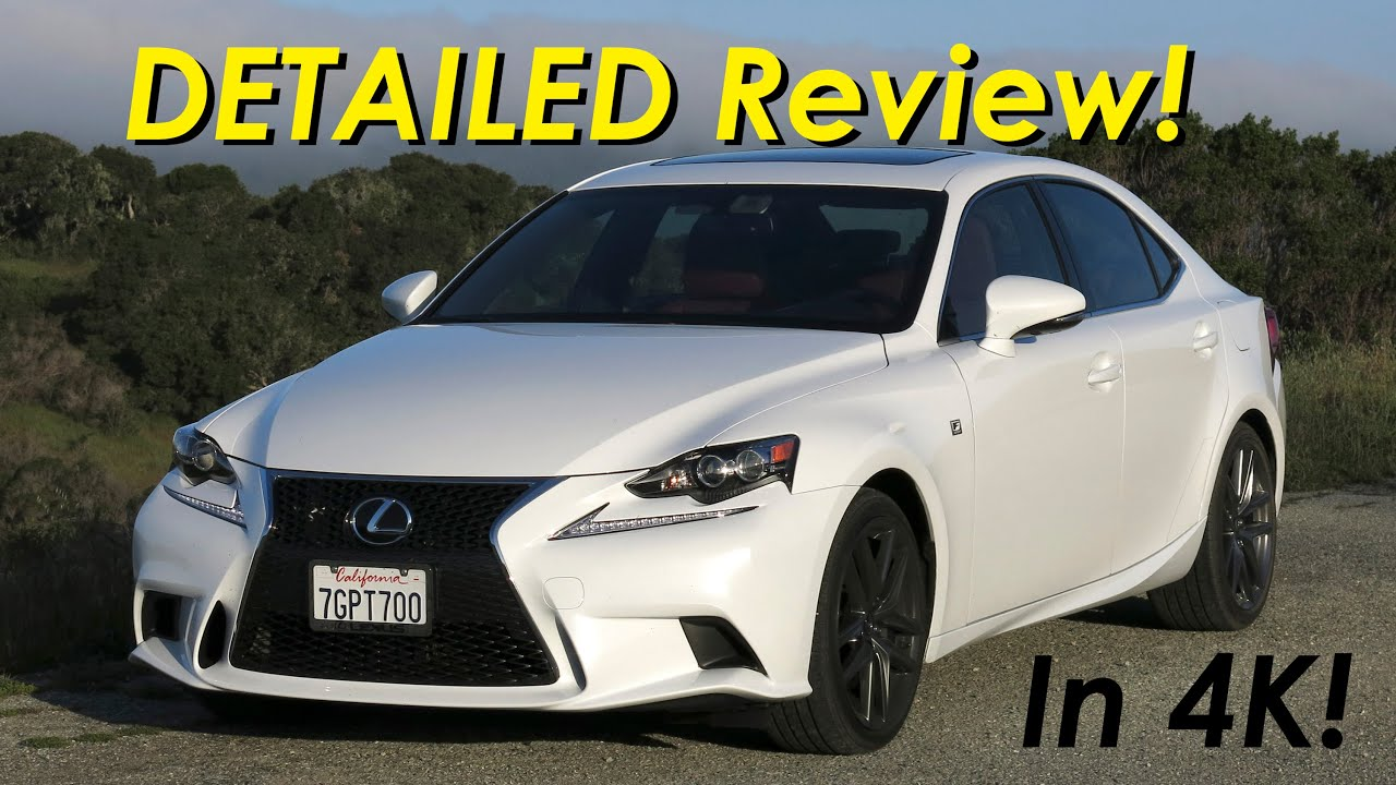 2015 Lexus IS 350 IS 250 F Sport DETAILED Review and Road Test