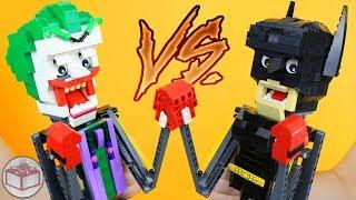 How To Build LEGO Batman & Joker BOXING Puppets!