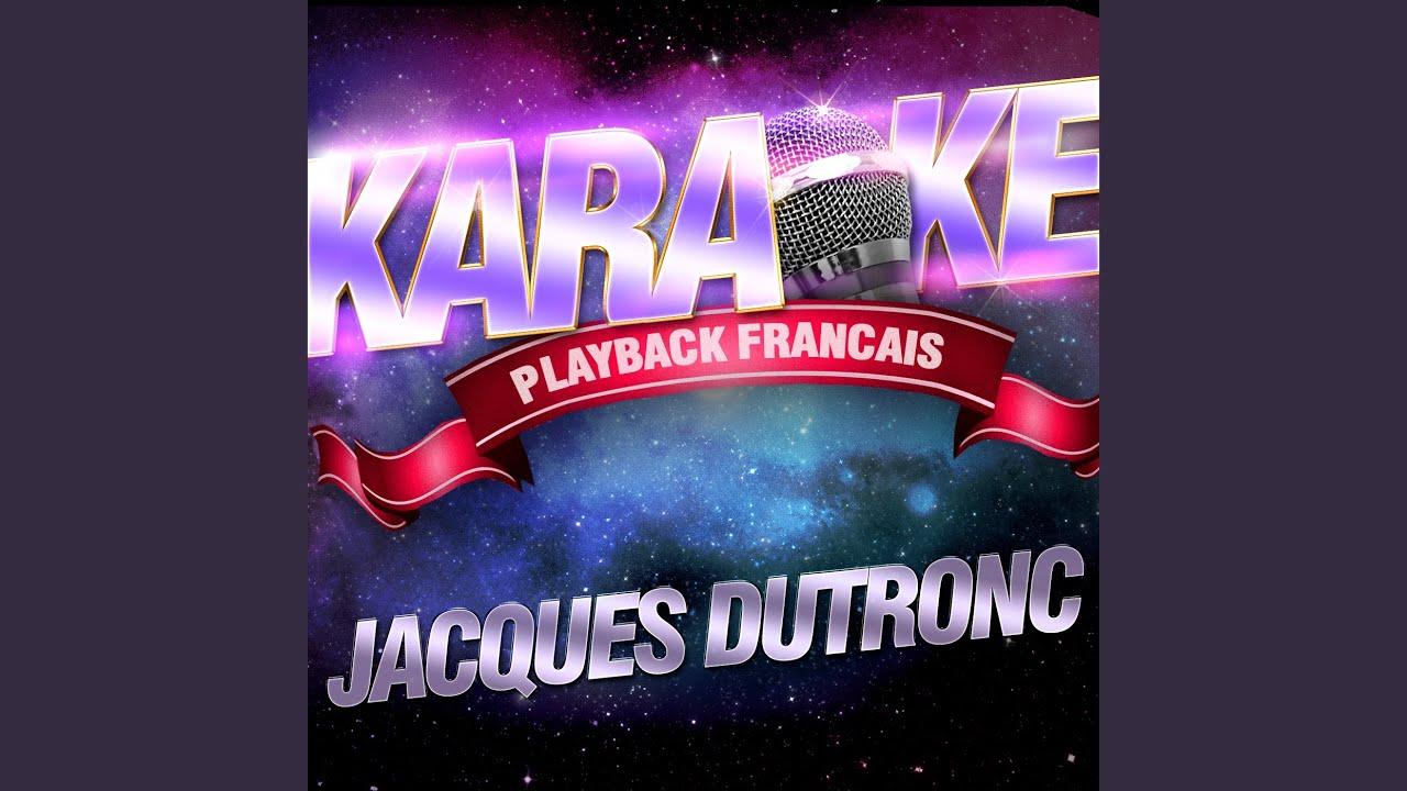 Le Petit Jardin — Karaoké Playback Instrumental — Rendu Célèbre Par ...