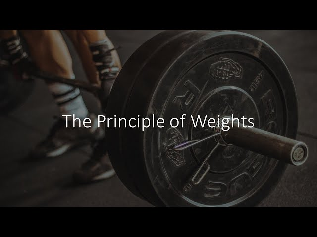 The Principle of Weights · 210110 PM · Pastor Jerome Pittman