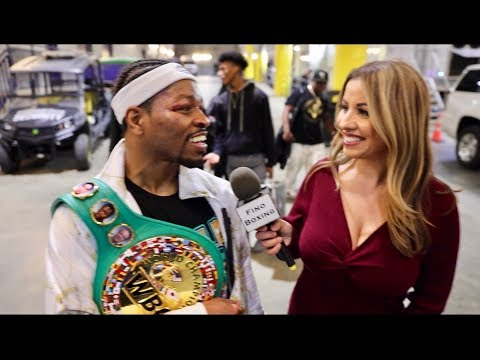 SHAWN PORTER: I WANT ERROL SPENCE, MANNY PACQUIAO & KEITH THURMAN AFTER YORDENIS UGAS VICTORY