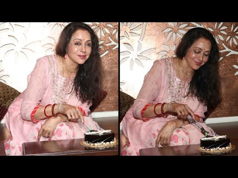 Bollywood Celebs At Hema Malini's Grand 68th Birthday Party!